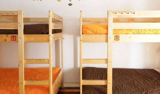 Best rates for youth hostel rooms and beds in Lisbon