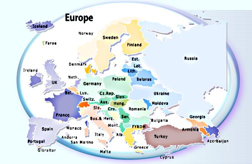 Hostels and European Backpackers Reservations Travel and – European Travel Maps